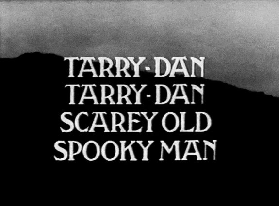 Tarry-Dan, Tarry-Dan, Scary Old Spooky Man-1978-BBC